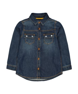 Mothercare Prairie Denim Shirt