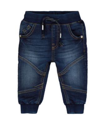Mothercare Denim Mid-Wash Jogger Jeans