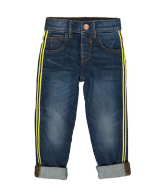 Mothercare Denim Side Tape Jeans