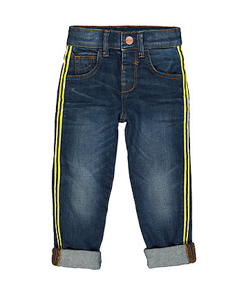 Mothercare Side Tape Jeans