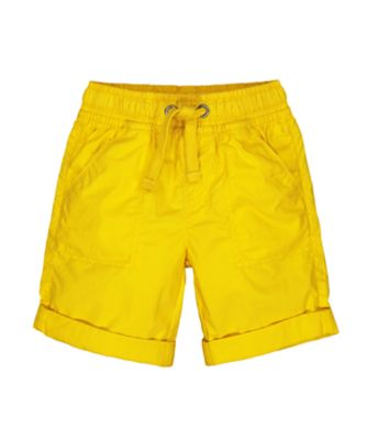 Mothercare Tech Yellow Shorts