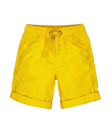 Mothercare Yellow Shorts