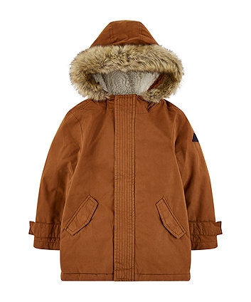 Mothercare Tan Peached Coat