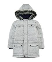 Mothercare Grey Longline Padded Coat