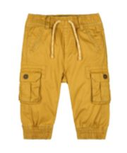 Mothercare Mustard Cargo Trousers