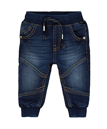 Mothercare Mid-Wash Jogger Jeans