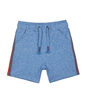 Mothercare Robot Play Blue Side Stripe Shorts