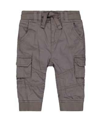 Mothercare Motor Mash Up Charcoal Cargo Trousers