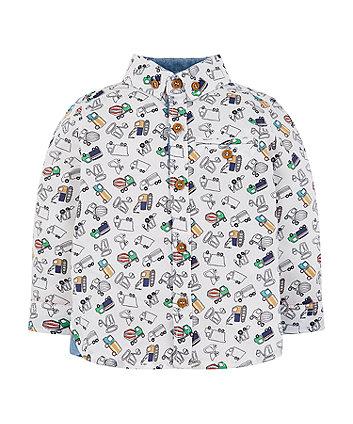 Mothercare Multicolour Vehicle Shirt