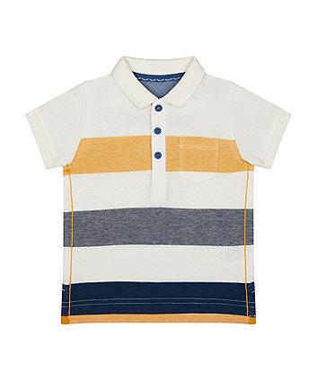 Mothercare Multicolour Stripe Polo Shirt