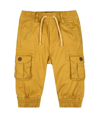 Mothercare Tech Mustard Cargo Trousers