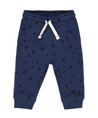 Mothercare Prairie Navy Geometric Print Joggers