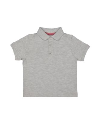 Mothercare MC61 Grey Short Sleeve Polo Shirt