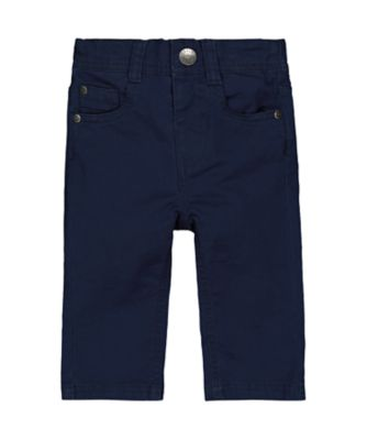 Mothercare Motor Mash Up Navy Trousers