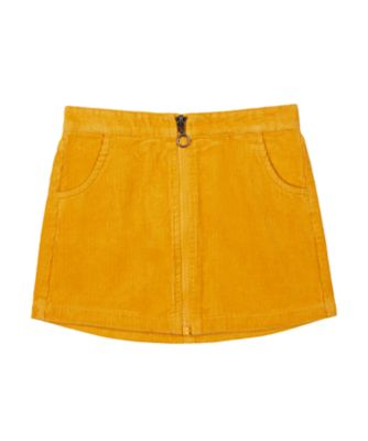 Mothercare Peace And Art Mustard Corduroy Skirt
