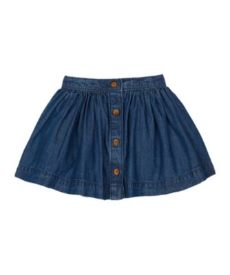 Mothercare Prairie Denim Button Down Skirt