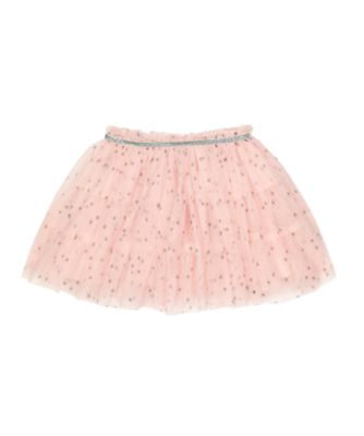Mothercare Pretty Mash Up Pink Stars Mesh Skirt