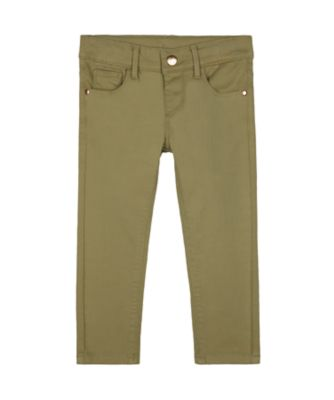 Mothercare Peace And Art Khaki Green Trousers