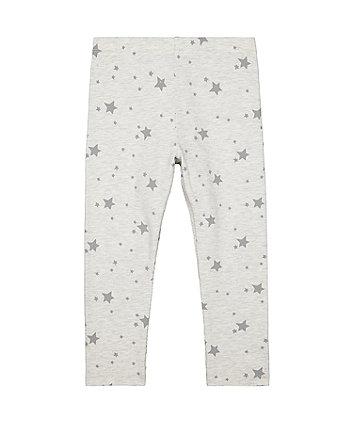 Mothercare Grey Star Leggings