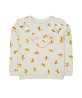 Mothercare Peace And Art Frill Sweat Top