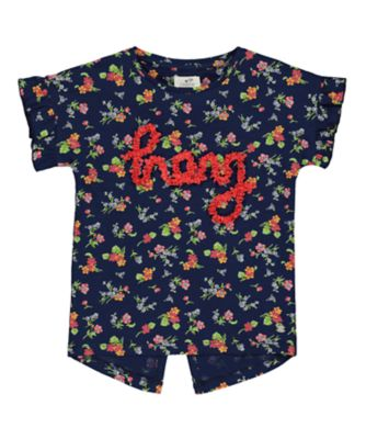 Mothercare Flower Market HEY! Short Sleeve T-Shirt