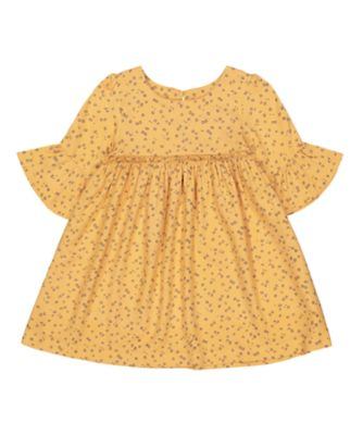 Mothercare Peace And Art Floral Flute 3/4 Dress