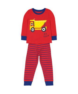 Mothercare Big Truck Pyjamas