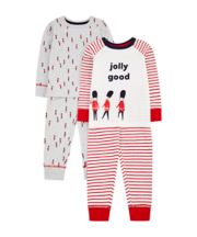 Mothercare Jolly Good Guardsman Pyjamas - 2 Pack