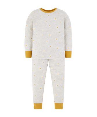 Mothercare Grey Daisy Pyjamas