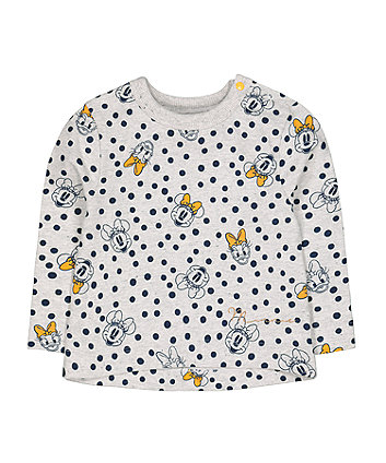 Mothercare Disney Minnie Mouse Friends Grey Sweat Top
