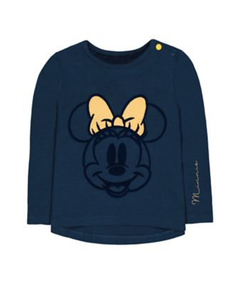 Mothercare Mickey Navy Minnie Short Sleeve T-Shirt