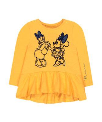 Mothercare Mickey Friends Peplum Long Sleeve T-Shirt