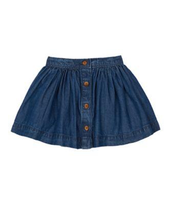 Mothercare Prairie Denim Button Down Skirt