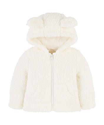 Mothercare Cream Cuddle Fleece With Ears