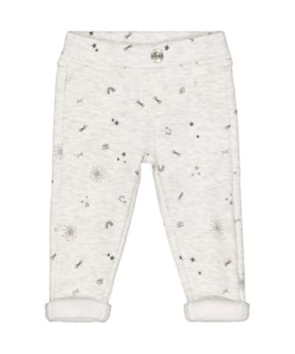 Mothercare Pretty Mash Up Grey Star Jeggings