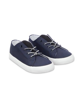 Mothercare Navy Lace Up Trainers