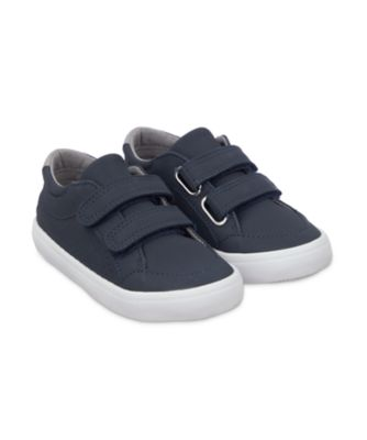 Mothercare Navy Double Strap Trainers