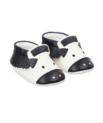 Mothercare Zebra Moccasin Pram Shoes