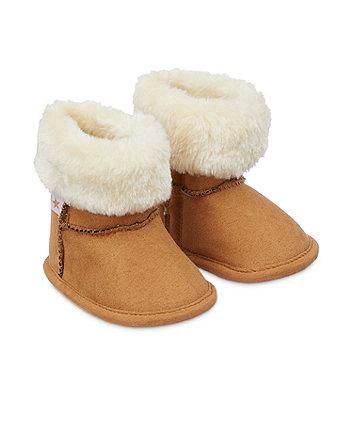 Mothercare Snug Boot - Tan