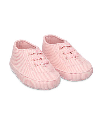 Mothercare Cord Trainer Shoes  - Pink