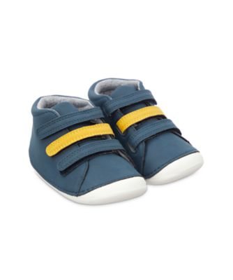Mothercare First Walker Navy Dino Crawler Shoes