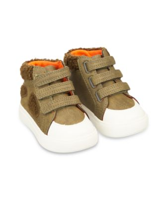 Mothercare First Walker Dino Hi-Top Trainers