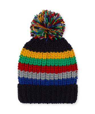 Mothercare Multi-Stripe Beanie Hat