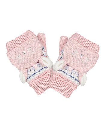 Mothercare Novelty Bunny Converter Mitts