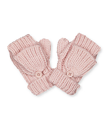 Mothercare Pink Converter Mitts