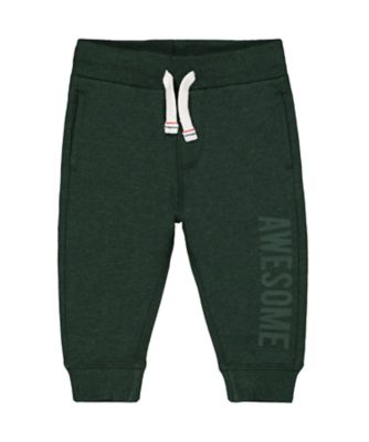 Mothercare Promo Dark Green Joggers