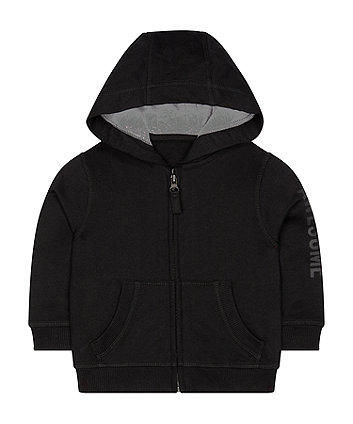 Mothercare Black Awesome Hoodie