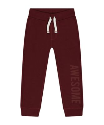 Mothercare Promo Burgundy Joggers