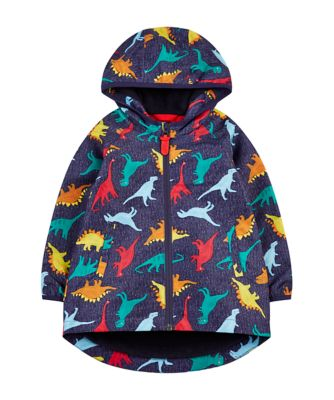 Mothercare Outerwear Dinosaur Mac (Fleece Lined)