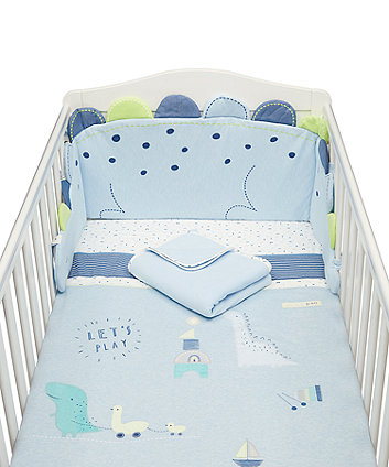 Mothercare Sleepysaurus Bed In A Bag